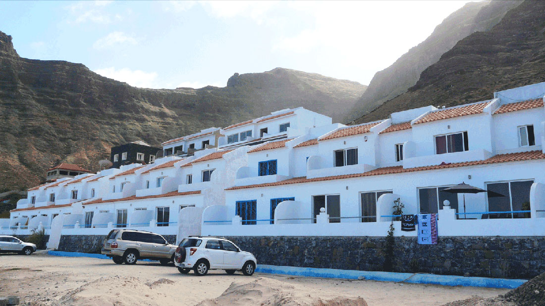Outside view of Tranquil Beach House Sao Vicente Cabo Verde