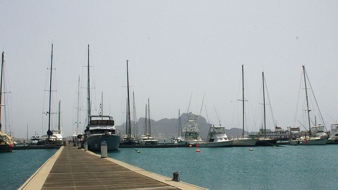 May is calm in Cabo Verde, there are plenty of boats in November