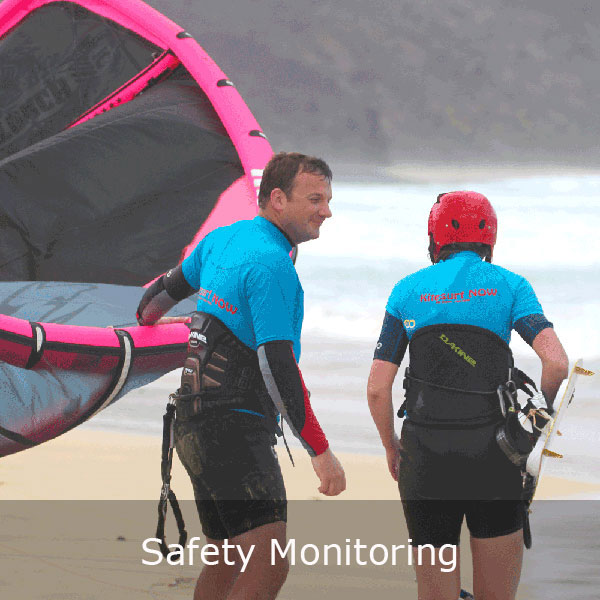 We can monitor your safety